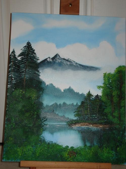 Bob Ross Paint-Along Mystic Mountain2